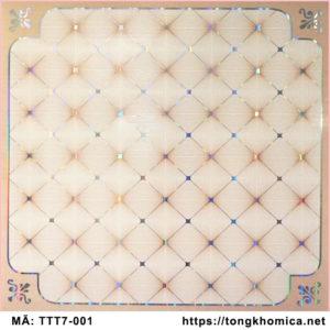 mẫu trần thả nhựa pvc hoa văn